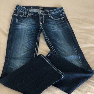 EUC Express jeans size 4S